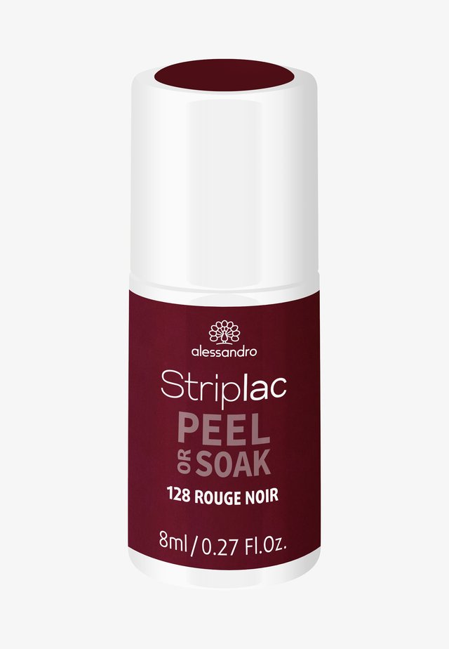 STRIPLAC PEEL OR SOAK UV LAMP - Nail polish - rouge noir
