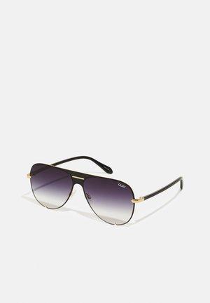 HIGH KEY FASHION - Sunglasses - black/black