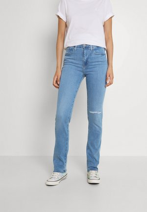 724 HIGH RISE STRAIGHT - Straight leg jeans - rio meet up with damage
