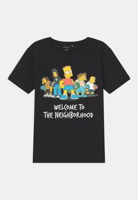 Name it - SIMPSONS BART ATLA - Print T-shirt - black - 0