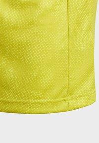 adidas Performance - Print T-shirt - yellow - 3
