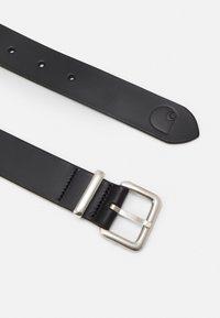 Carhartt WIP - LOGO BELT - Belt - black/silver-coloured - 1