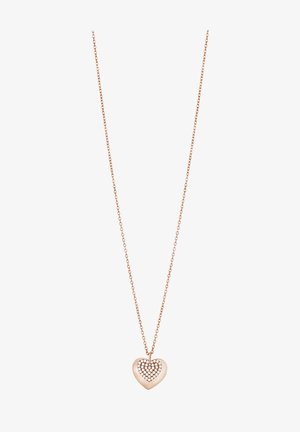 Necklace - rose gold plated