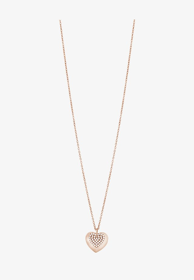 Ketting - rose gold plated