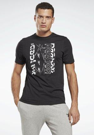 VECTOR GRAPHIC SERIES ELEMENTS - Print T-shirt - black