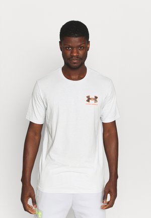 CAMO FILL WORDMARK - Print T-shirt - grey
