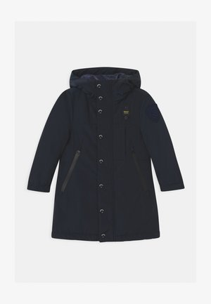 IMPERMEABILE LUNGHI OVATTA - Zimní kabát - dark blue