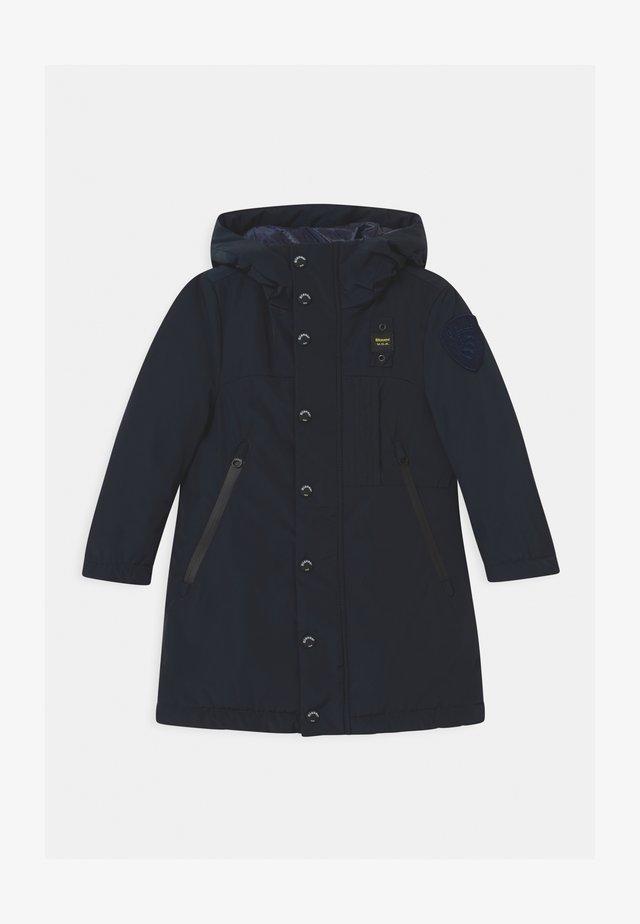IMPERMEABILE LUNGHI OVATTA - Cappotto invernale - dark blue