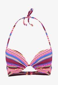 Buffalo - PUSH UP - Bikini top - bordeaux - 3