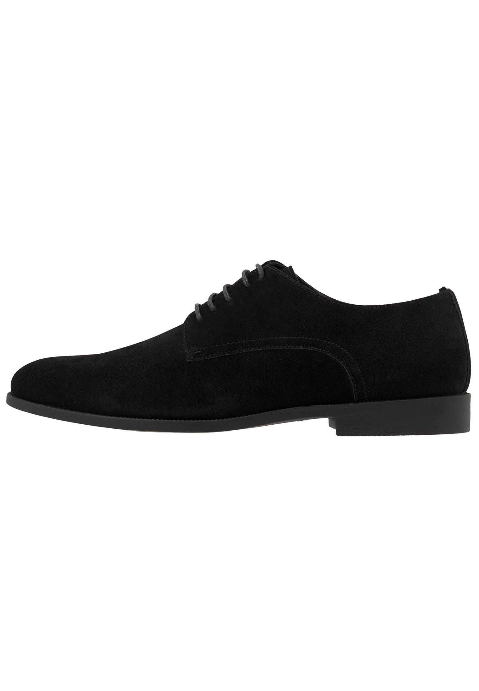 Men Smart lace-ups - black