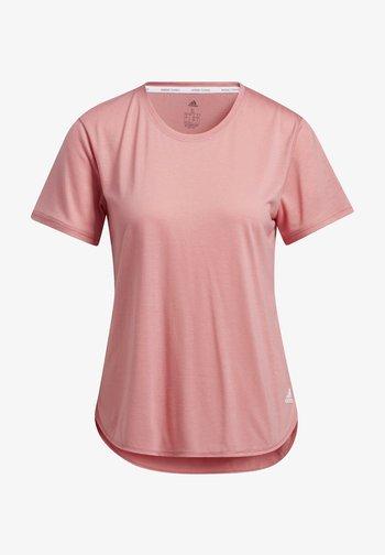 GO TO TEE  - T-shirt basic - hazros/white