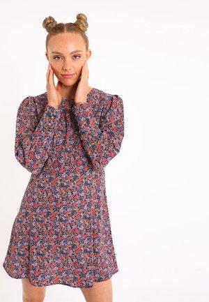 SÜSSES MIT BLUMEN - Day dress - marineblau