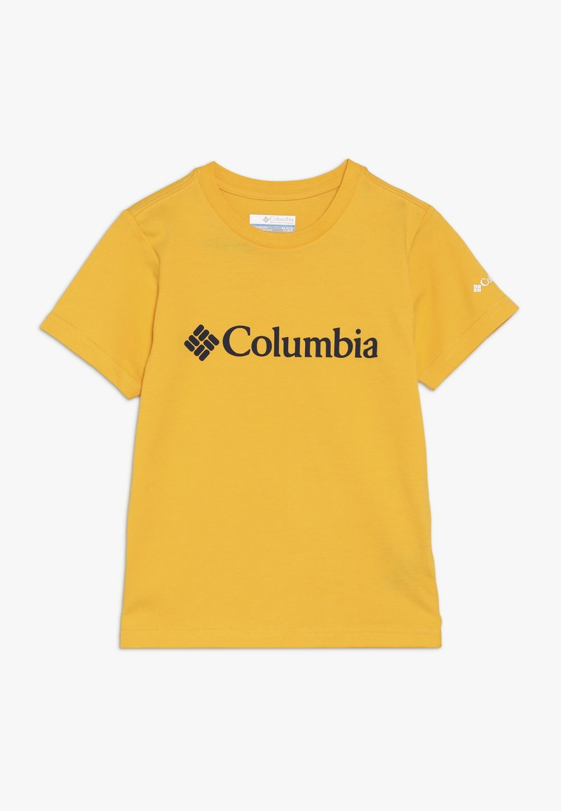 Columbia - BASIC LOGO YOUTH UNISEX - T-Shirt print - stinger/collegiate navy