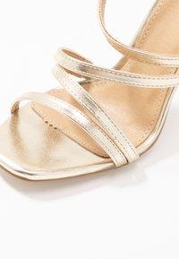BEBO - OSSIAN - High heeled sandals - gold - 2