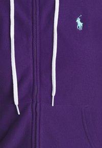 Polo Ralph Lauren - FEATHERWEIGHT - Zip-up sweatshirt - purple rage - 5