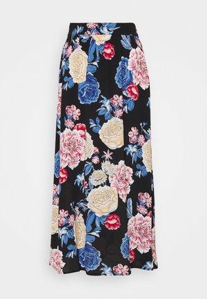 VIKITTIE NEW MAXI SKIRT - A-line skirt - black/blue/rose/beige
