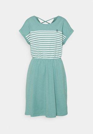 MINI  DRESS - Jersey dress - mineral stone blue