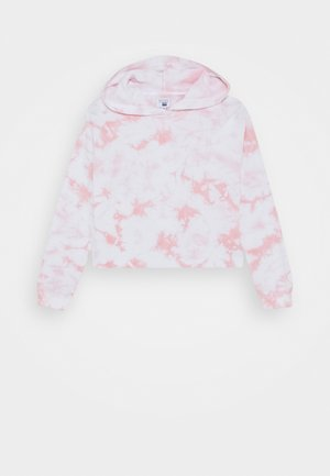 SERENA CROP HOODIE - Jersey con capucha - marshmallow
