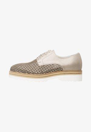 Chaussures à lacets - ivory