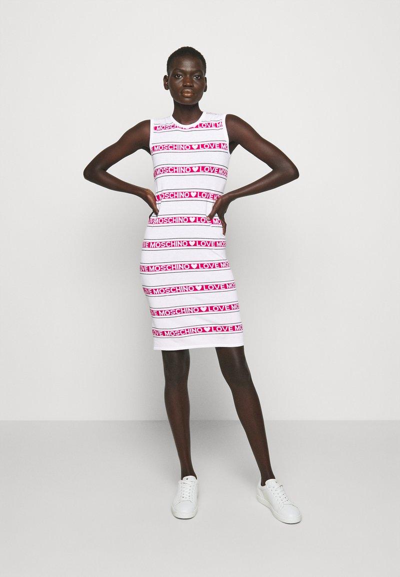 Love Moschino - Jumper dress - optical white