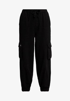 BAGGY RAFF TROUSER - Trousers - black