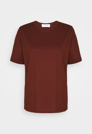 T-shirts - chestnut