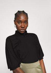 Gestuz - RIFA TURTLENECK - Basic T-shirt - black - 3
