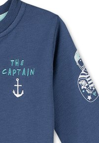 Sanetta Kidswear - Zip-up sweatshirt - blau - 2