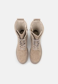 Tamaris - BOOTS - Lace-up ankle boots - beige - 4