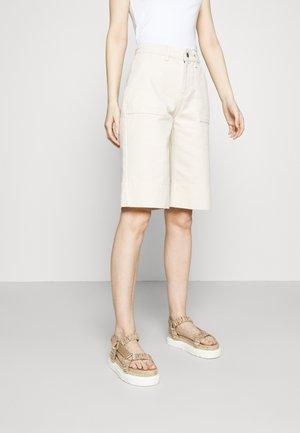 ALANA - Denim shorts - egret dust