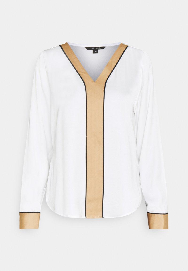 comma - LANGARM - Blouse - white