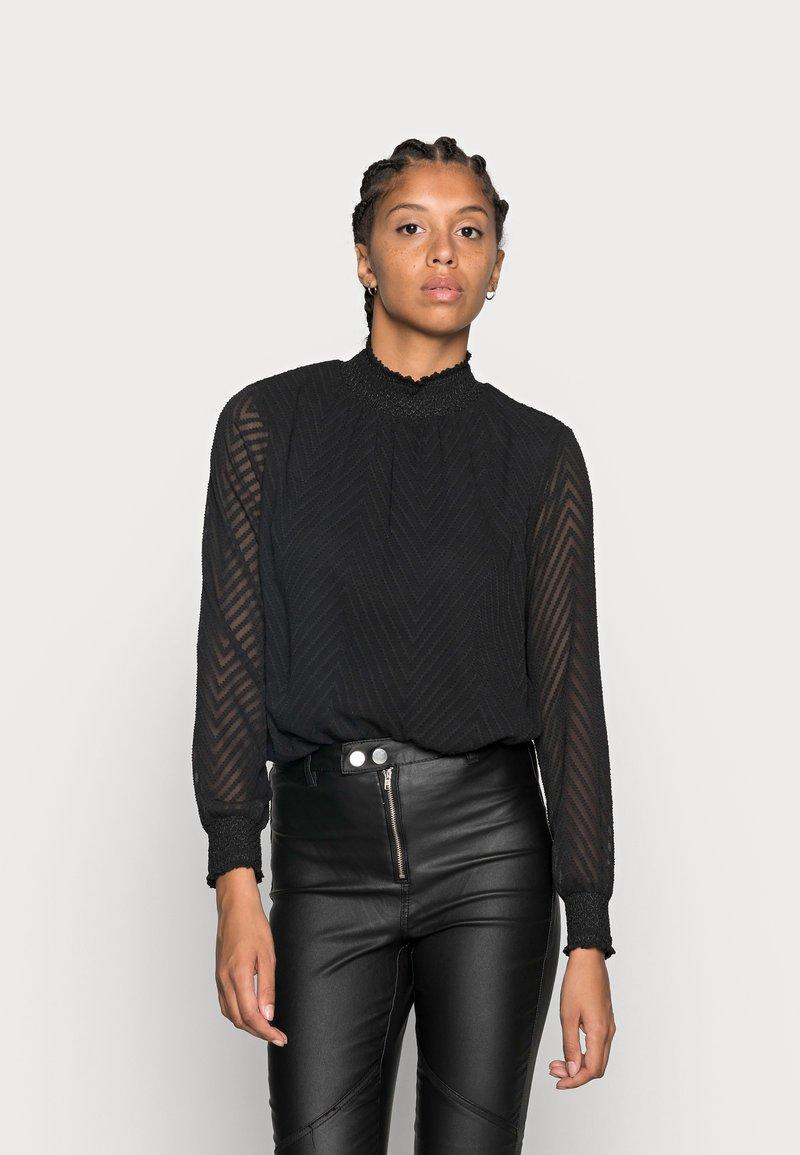 ONLY - ONLNEW KAYLA - Bluse - black