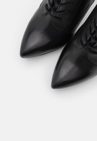 Even&Odd - LEATHER - High heeled ankle boots - black - 5