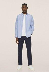 Mango - SEERSUCKER RESPIRANTE - Formal shirt - bleu - 6
