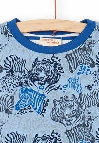 Du Pareil au Même - Print T-shirt - blue - 2