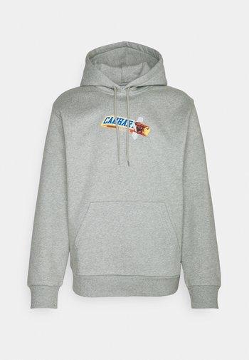 HOODED CHOCOLATE BAR - Sweatshirt - grey heather