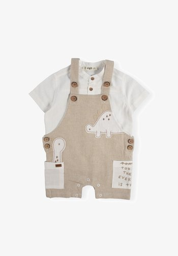 SET - Dungarees - off-white