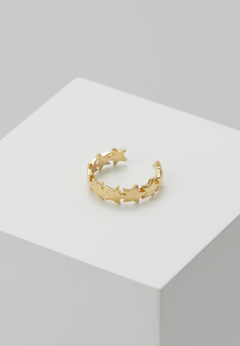 Orelia - STAR STATION EAR CUFF - Earrings - pale gold-coloured