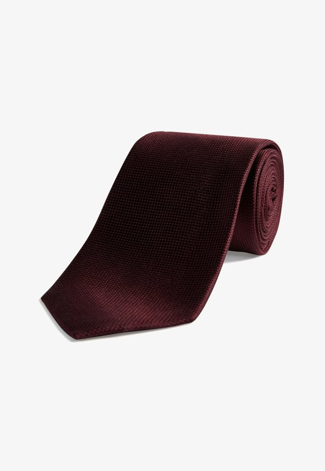 Cravate - dark red