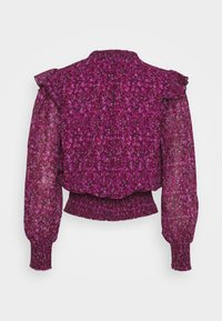 Dorothy Perkins - DITSY TIE NECK LONG SLEEVE - Blouse - pink - 1
