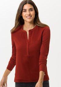BRAX - STYLE CLARISSA - Long sleeved top - cinnamon - 0