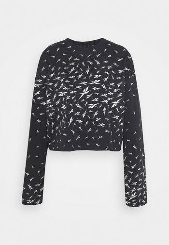 VECTOR LONG SLEEVE - Camiseta de manga larga - black