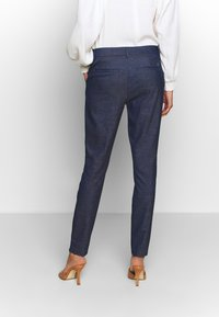 Mos Mosh - ABBEY MARLY PANT - Trousers - dark blue - 2