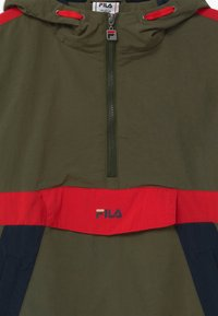 Fila - LAZARO HOODED - Training jacket - grape leaf/true red/black iris - 2