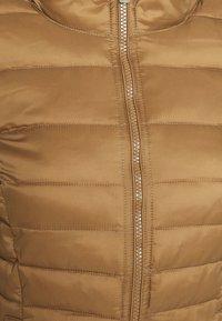 ONLY - ONLNEWTAHOE CONTRAST HOOD JACKET  - Light jacket - toasted coconut/pumice stone - 5