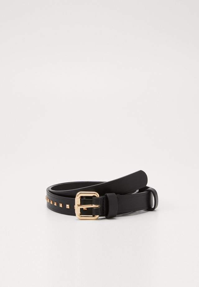 IRINA BELT - Pásek - black/gold-coloured
