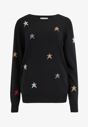 SWEATER RITA STARBURST - Jumper - black