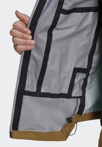 adidas Performance - XPLORIC RAIN JACKET - Hardshell jacket - wild moss/acid mint - 7