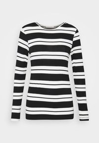 Anna Field - Long sleeved top - black/white - 3