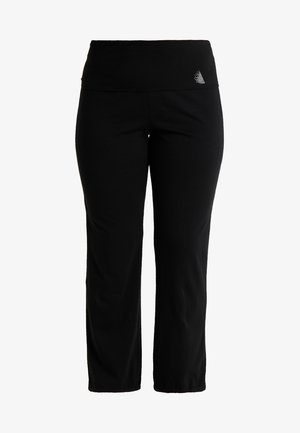 BASIC LONG PANT - Tracksuit bottoms - black